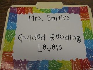 A great organizational tool for guided reading groups! What the Teacher Wants!: