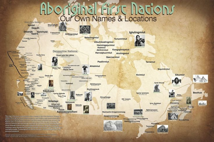 Update: Large scale Map of First Nations pre-European contact Map maker provides pre-contact look of Canada