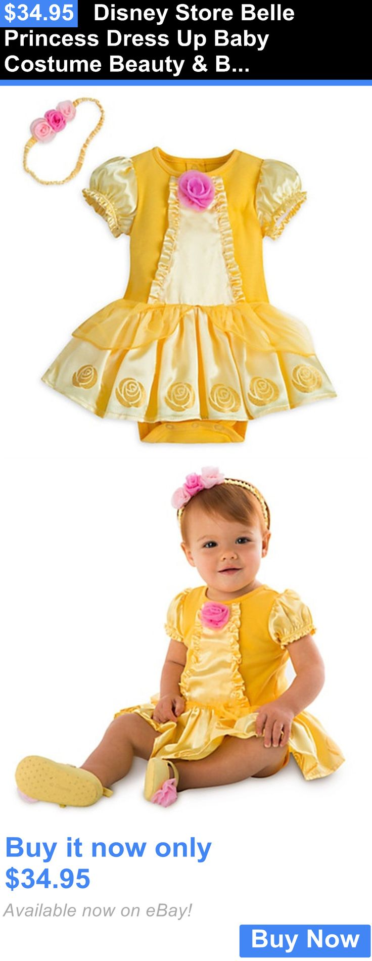 Halloween Costumes Kids: Disney Store Belle Princess Dress Up Baby Costume Beauty And Beast Halloween New BUY IT NOW ONLY: $34.95