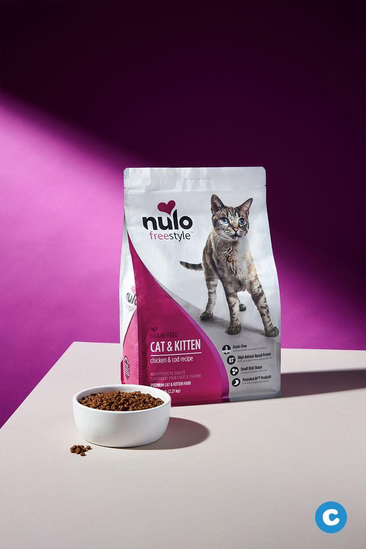 Nulo Freestyle Chicken Cod Recipe Grain Free Dry Cat Kitten Food In 2020 Kitten Food Grain Free Cod Recipes