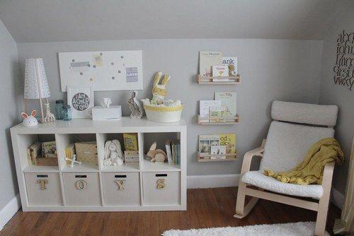 Chambres de bébé, un peu d'inspiration pour les futures mamans - Inspiration gris & jaune