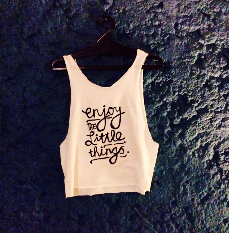 Diy Crop Top Print Out The Design You Like Then Put The
