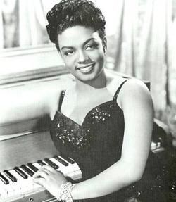 """Hazel Dorothy Scott, jazz and classical pianist and singer was the first woman of color to have her own television show, """"The Hazel Scott Show"""" which premiered July 3, 1950."""