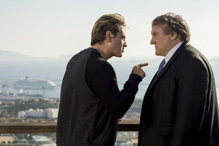 Gérard Depardieu menacé par Benoît Magimel à Marseille