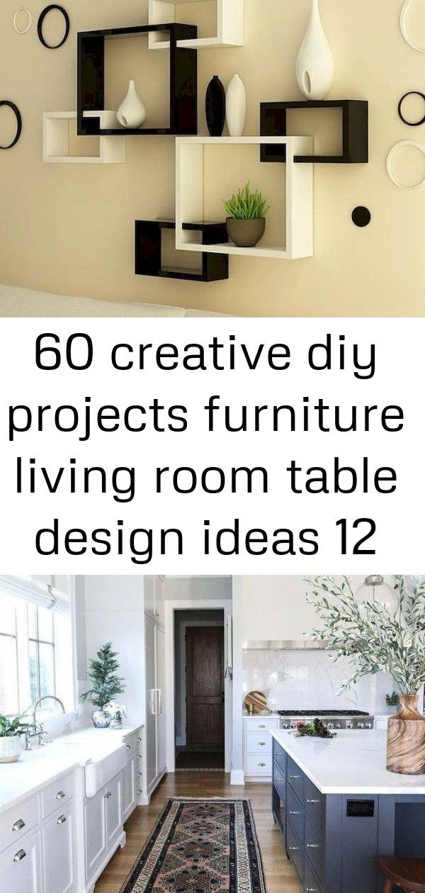 60 Creative Diy Projects Furniture Living Room Table Design Ideas 12