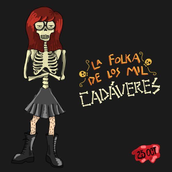 Daria Folka de los Mil Cadáveres  Mara Ilustración