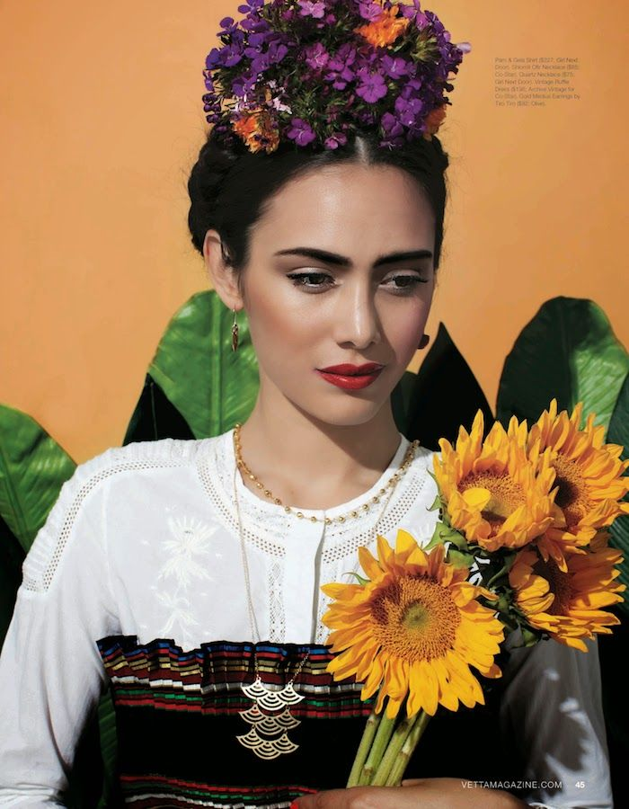 Frida Kahlo costume inspiration