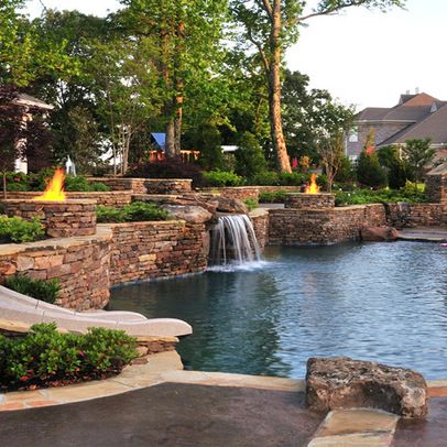 Pool On Steep Slope Design Ideas, Pictures, Remodel, and Decor - page 10