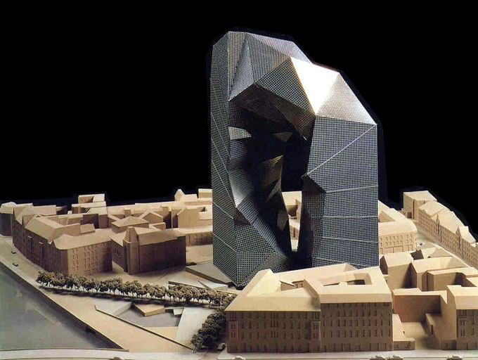 Max reinhardt haus proposed design for berlin by peter for Design berlin