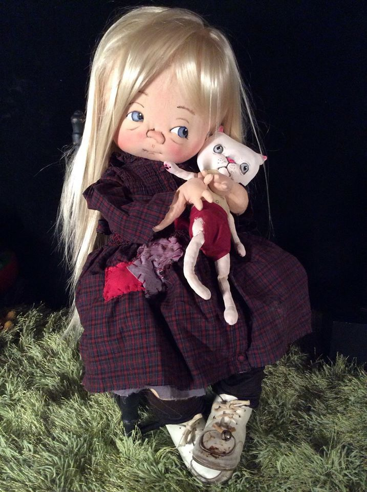 SLOAN  One of a Kind Toddler by doll artist  Jan Shackelford  janshackelford@dollsbyjanshackelford.com