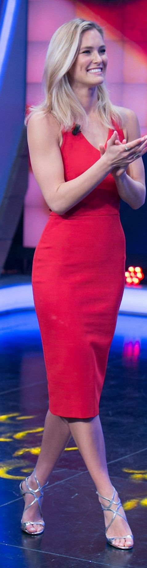 Bar Refaeli – Appeared on 'El Hormiguero 3.0′ TV Show in Madrid – November 2014