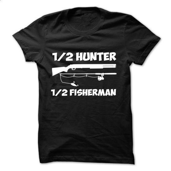 Hunter fisherman #hoodie #style. BUY NOW => https://www.sunfrog.com/Fishing/Hunter-fisherman.html?60505