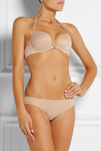 Calvin Klein Underwear - Perfectly Fit Multi-way Padded Bra - Beige - 32DD
