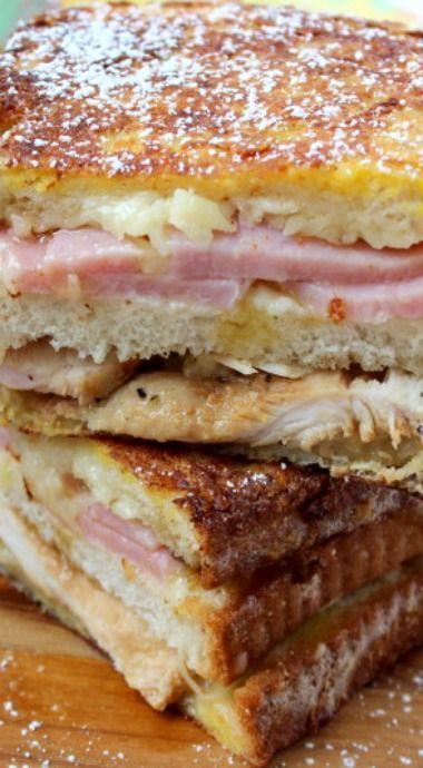 The Best Ever Monte Cristo Sandwich