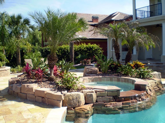 27 best images about south florida gardens on pinterest for Pool designs florida