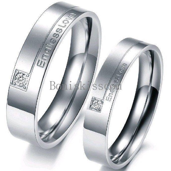 Dull Grey Titanium Ring