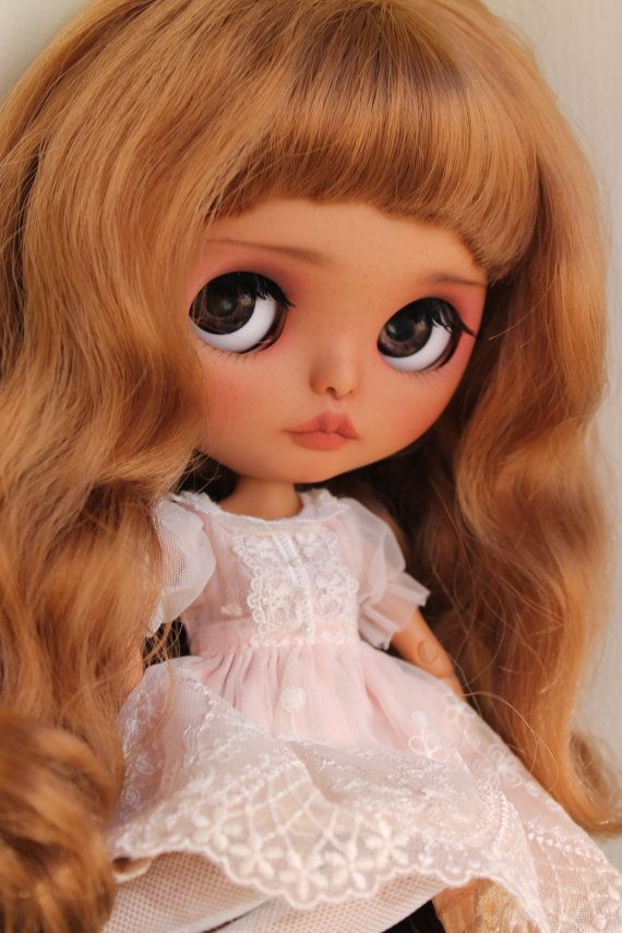 RESERVED Alita Custom Blythe Doll OOAK Art by NDsDazzlingDollys