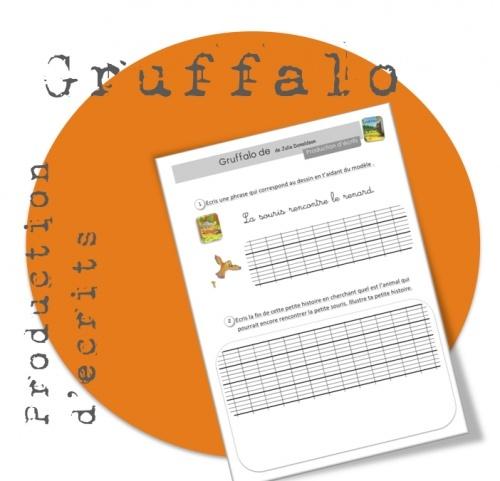 Production d'écrits : Gruffalo