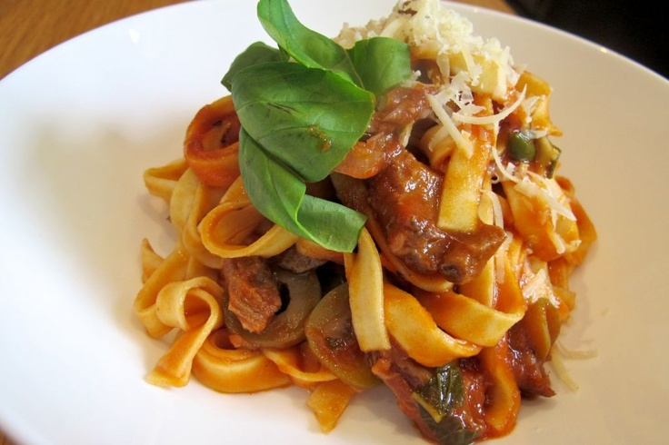 Egg Pasta With A Rich Lamb Ragu Sauce thinking of doing