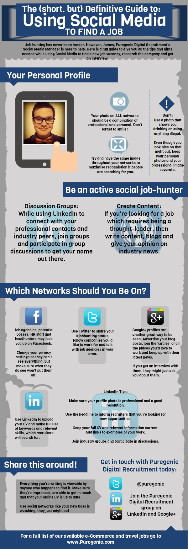The (short, But) Definitive Guide To Using Social Media To Find A Job [