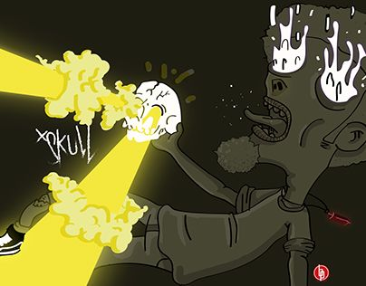 """Check out new work on my @Behance portfolio: """"Don't retrieve the S.K.U.L.L"""" http://be.net/gallery/49232167/Dont-retrieve-the-SKULL"""