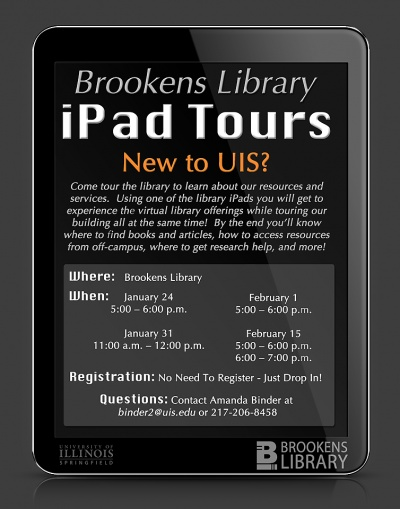 Using iPads for self-guided tours - Great idea!