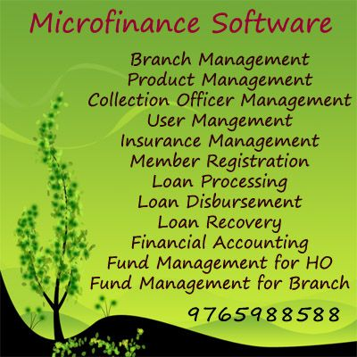 Microfinance Software's innovative design is flexible, user friendly and features a very high level automation. This gives the MFIs the flexibility and capability to deliver excellent customer service and operate very efficiently with a minimum number of staff.