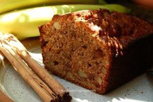 Banana, Almond & Cinnamon Cake by Mouthwatering Vegan Recipes