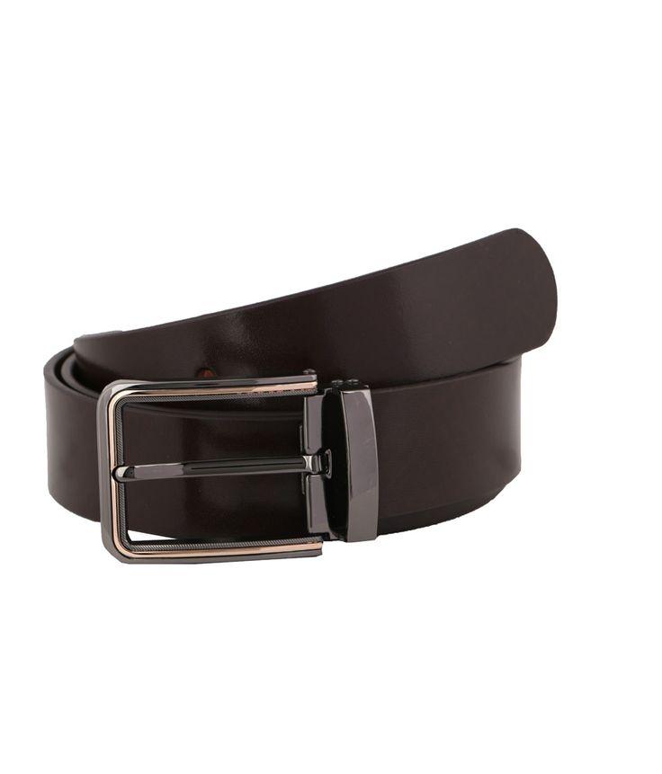 Vinson Massif Brown Texas Leather Belt