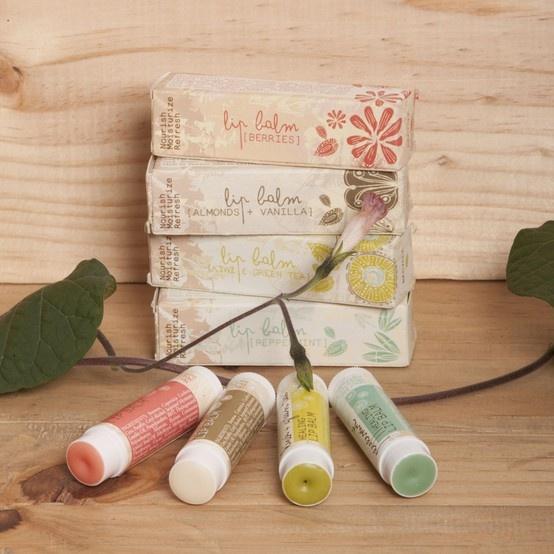 Healing lip balms: berries, almonds + vanilla, peppermint, green tea + kiwi. #beyondBodies