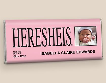 18 best Birth announcement favours images – Baby Announcement Candy