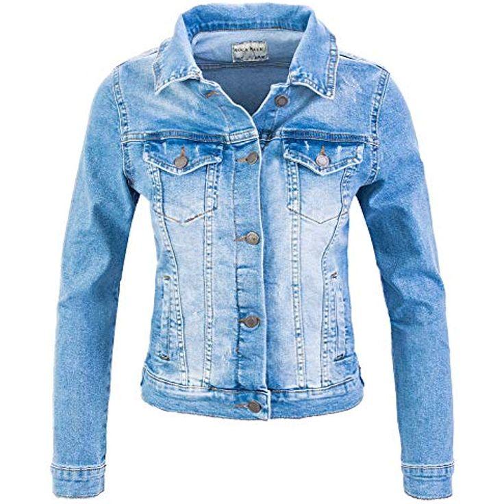 Rock Creek Damen Jeans Jacke Übergangs Jacke D-401 #Bekleidung #Damen #Bademode…