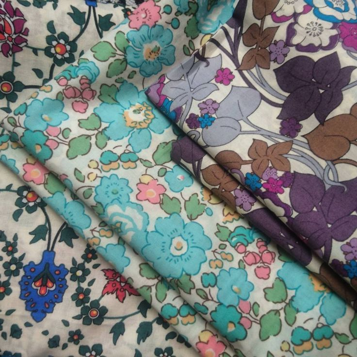 We have just picked up these fantastic printed cotton lawns by Liberty of London. What shall we make? Little cotton purses, make up bags, lingerie bags or more cotton knickers?? #help #cotton #cottonlawn #libertyoflondon #libertyprint #floral #print #colour