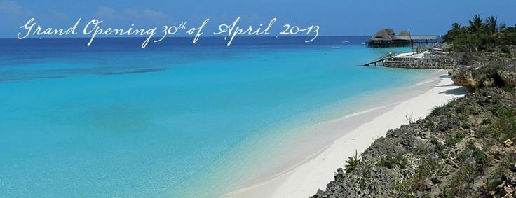 sandy beaches of Zanzibar