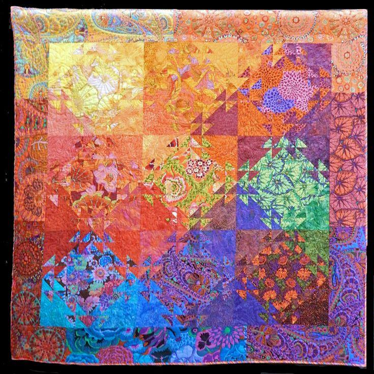 778 Best Images About Kaffe Fassett Quilts On Pinterest