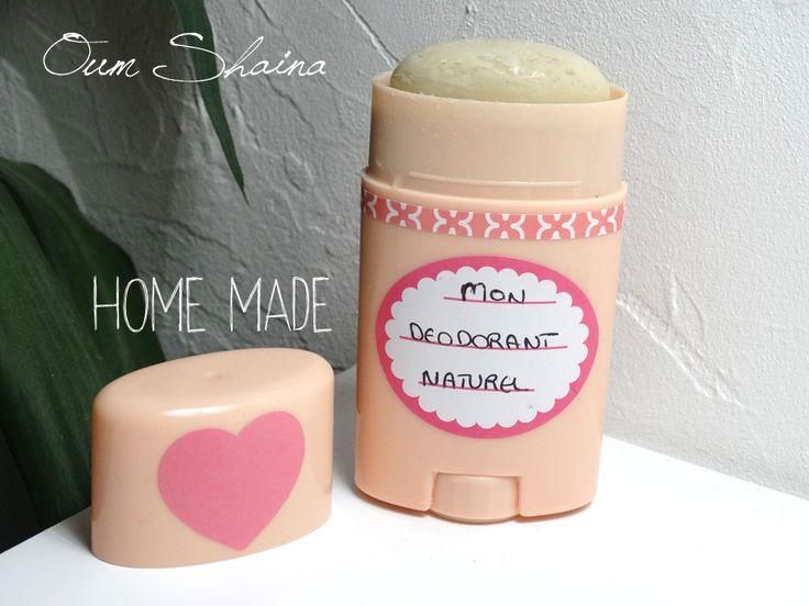 déodorant fait maison naturel