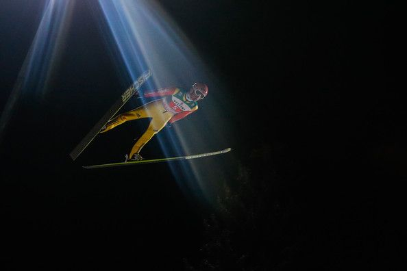 Severin Freund of Germany during the FIS Ski Jumping World Cup Vierschanzentournee (Four Hills Tournament) on January 06, 2015 in Bischofhofen, Austria. (January 5, 2015 - Source: Stanko Gruden/Agence Zoom/Getty Images Europe)