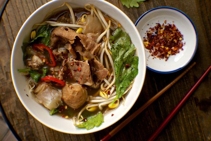 Thai Boat Noodle Soup Recipe