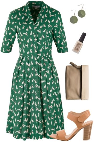Lucky Rabbit Outfit includes Emily and Fin, Verali, and Zatini - Birdsnest Online Fashion Store