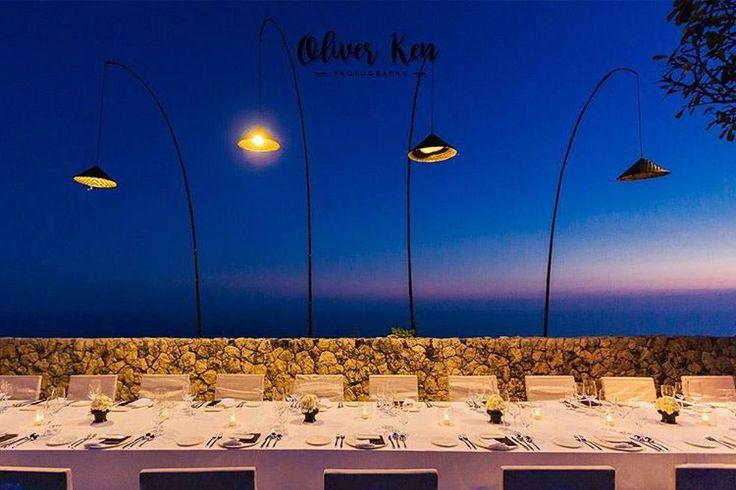 Romantic dinner sunset at Bali's high- end luxury resort Bvlgari. #bali #baliwedding #baliphotographer #thebalibride #oliverkenphotoworks #oliverken #weddingphotography #weddingphotographer #weddinginspiration #weddingseason #realwedding #weddingideas #weddingblog #luxurywedding #destinationweddings #diywedding #diyweddingideas #canon #theknot