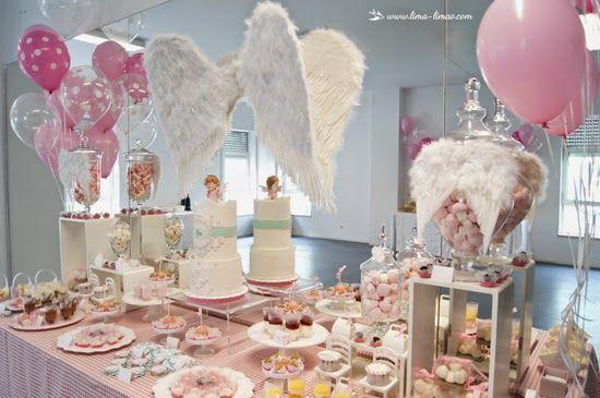 Festas Com Charme Baby Shower Angel Baby Shower Baby Shower