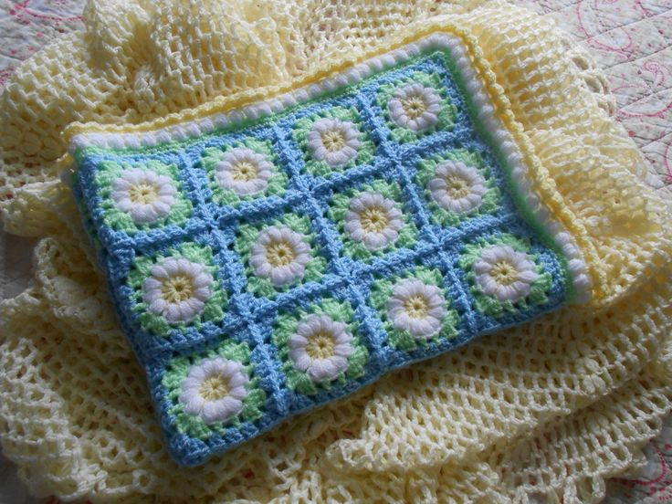 Daisy Meadow Baby Blanket | Flickr - Photo Sharing!