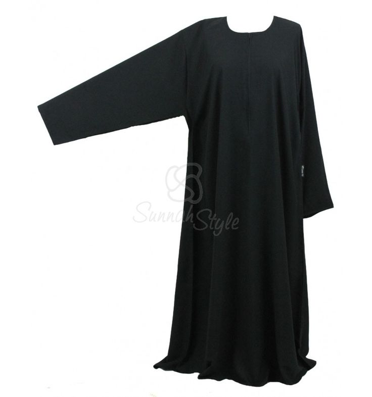 Plain Closed Value Abaya - PLUS by Sunnah Style #SunnahStyle #Islamicclothing #valueabaya