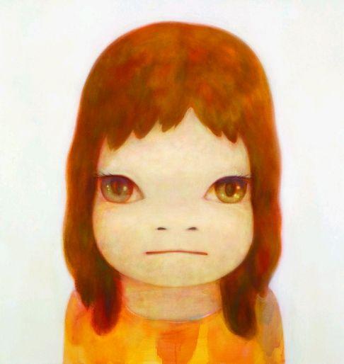 """White Night. Yoshimoto Nara. """"Yoshitomo Nara: neo-pop artist who defies categorisation"""""""