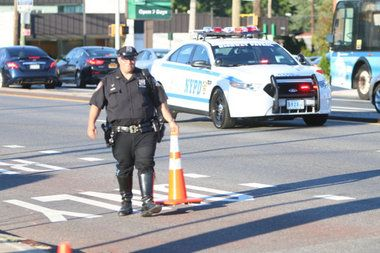An 84-year-old pedestrian remains in critical condition at Staten Island University Hospital in Ocean Breeze after he was hit by a car 10 days ago on Hylan Boulevard.