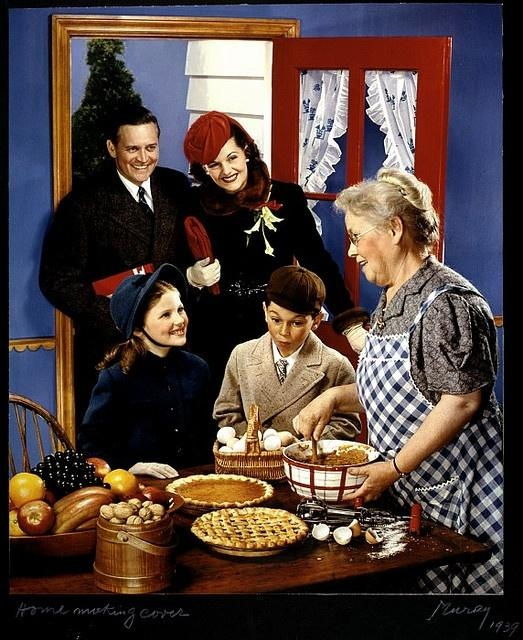 A heartwarming holiday Norman Rockwell