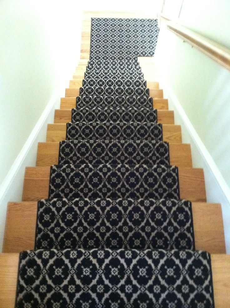 1000 images about stair runners with pie turns landings for Woven carpet for stairs