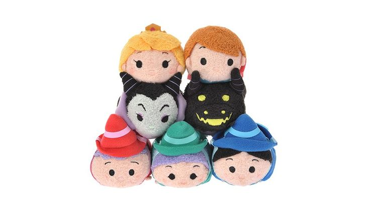 The Sleeping Beauty Tsum Tsum collection is coming to Japan on November 18, 2016!