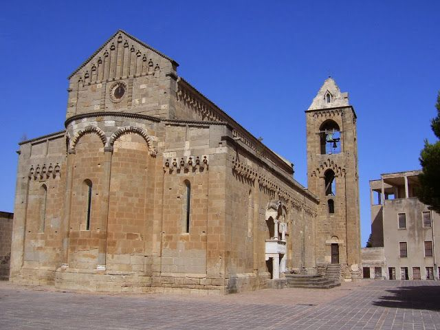 San Pantaleo's Cathedral (church), Dolianova, Sardegna, Sardinia.