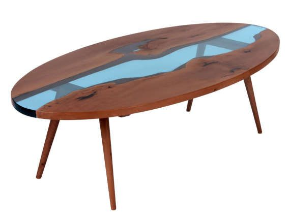 Mesa de centro mesa de centro moderna  mesa por PANwoodenproducts